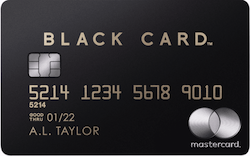 ラグジュアリーカード(ブラック)